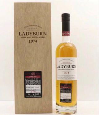 消失酒廠 Ladyburn 40年(1974/ Batch#2)