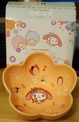 7-11 Sanrio 花形陶瓷碗 (#1 My Melody)