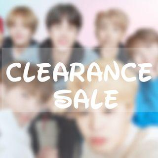 [CLEARANCE SALE] BTS & IKON ITEMS
