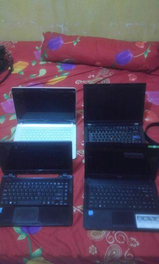Kanibalan casing laptop matot bekas service
