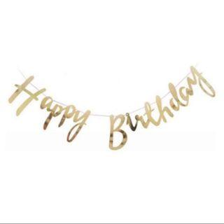 (INSTOCK) Happy Birthday Banner