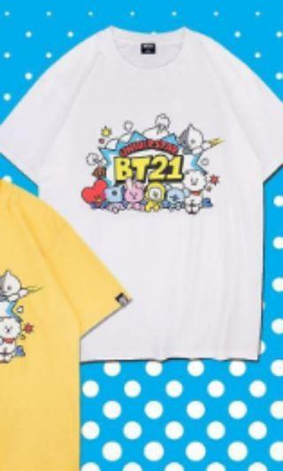 [Wts] BTS BT21 X STAGE COLLABORATION TEE