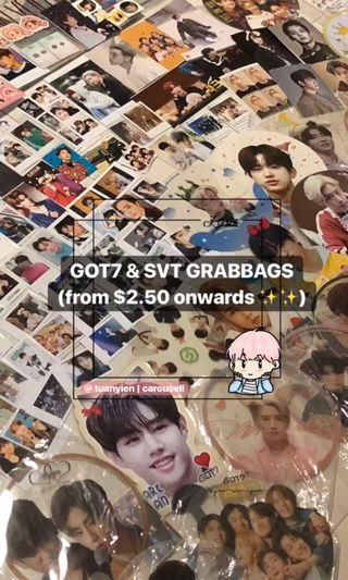 GOT7 & SVT GRABBAGS (from $2.50)