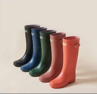 韓國Chuchu's 粉色Nude 水鞋 Rainboots M size