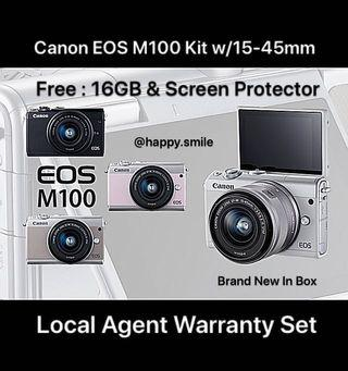 Canon M100 Kit w/15-45mm