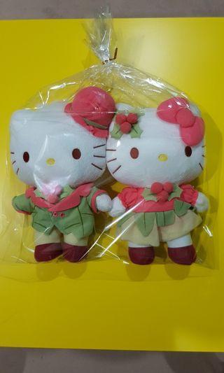 Changi Airport limited edition - Hello Kitty & Daniel plush toys