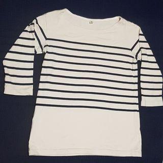 Uniqlo 3/4 Sleeve Cotton Sweater