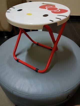 New Hello Kitty foldable stool for sale