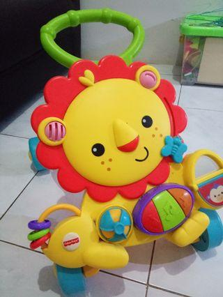 Lion Walker Musical Fisher Price