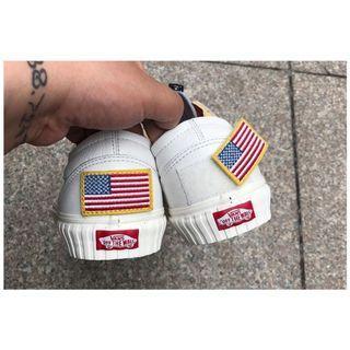 🚚 Vans Old Skool x NASA 美國國旗 宇航員👩🚀60週年 皮革 鞋 平底鞋24.5號