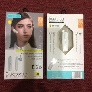 Bluetooth音樂藍牙耳機1入