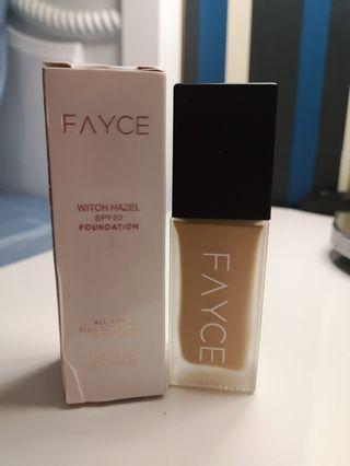 CLEARANCE SALE :Fayce foundation code autumn
