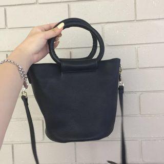 Unique Black Bucket Bag