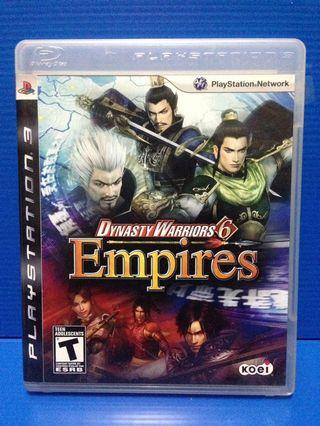 Ps3 games dynasty warriors 6 empires
