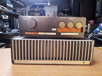 Ku quad pre +power amp