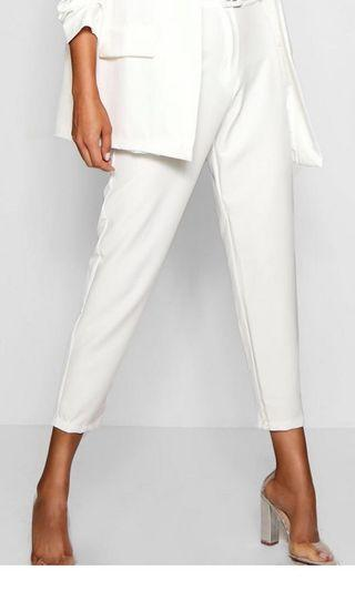 White pants straight