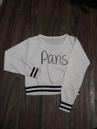 Sweater paris crop