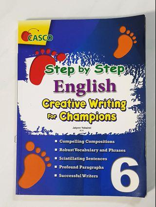 🚚 P6 Step by Step English Creative Writing for Champions