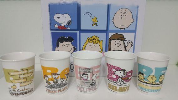 🚚 BNIB Snoopy cups (set of 5)