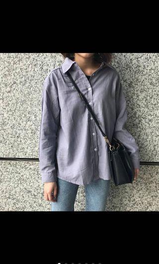 🚚 霧霾紫襯衫