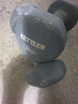 Kettler 5KG Dumbbells