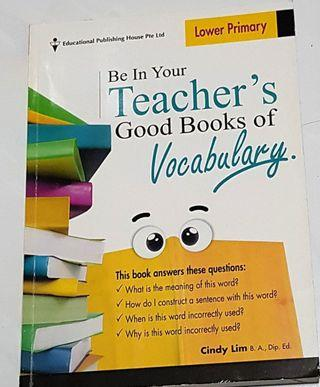 EPH Lower Primary Be In Your Teacher's Good Books of Vocabulary