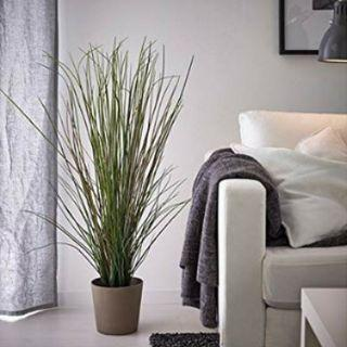 IKEA 17 cm FEJKA Artificial Potted Plant Grass