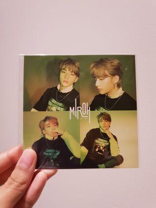Stray kids cle 1 miroh hyunjin PO benefit sticker