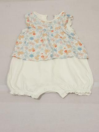 Miki 3 to 6 months Romper Dress