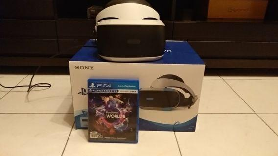 PS4 VR Bundle (With free games)