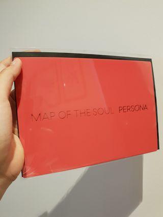 BTS MOTS Persona PO benefit bookmarks (set of 4)