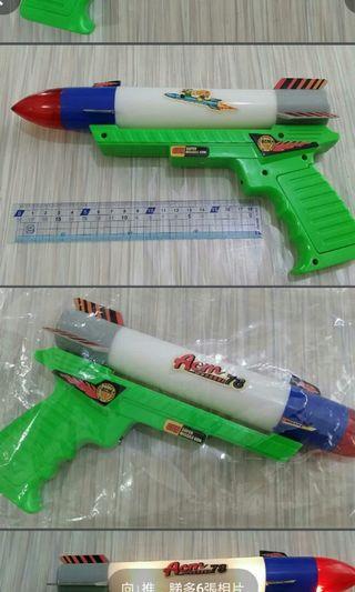 80年代懷舊玩具必殺聲響死光槍😆😅