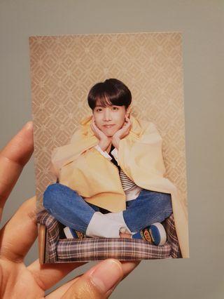 BTS MOTS Persona Jhope postcard