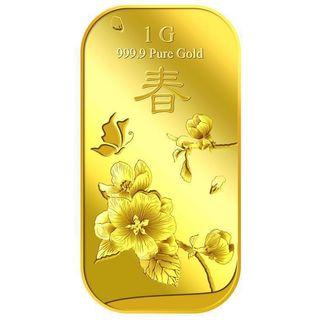 🚚 Puregold : 1g pure gold Chun Spring