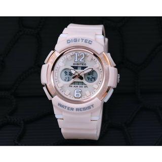 Jam Tangan Digitec Dual Time 2096 Original