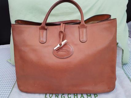 Longchamp Roseau Heritage Tote L