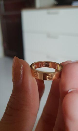 Cartier Love Ring (Yellow Gold - Size 51)