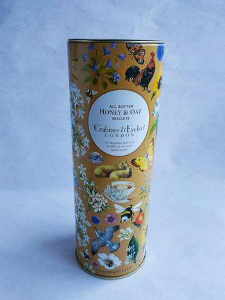 Crabtree & Evelyn Collectable Design Biscuit Cookies Metal Tin collector's item