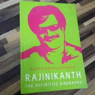Rajinikanth: The Definitive Biography, Book by Naman Ramachandran