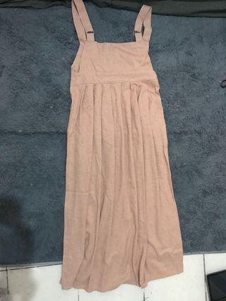 Overall Dusty Pink