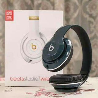 Headphone Bluetooth Beats Studio 3