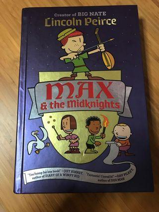 🚚 Max & the Midknights Lincoln Peirce author of Big Nate