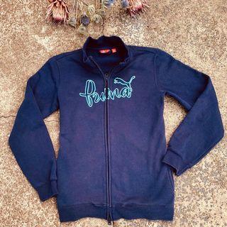 Vintage Puma zip up sweater SZ m/10