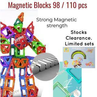 Magnetic Blocks Toys