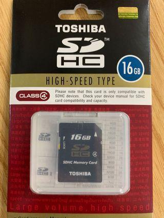 🚚 Toshiba SDHC 16GB