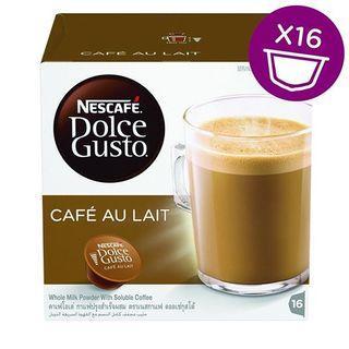 Nescafe Dolce Gusto Capsules :: Cafe Au Lait