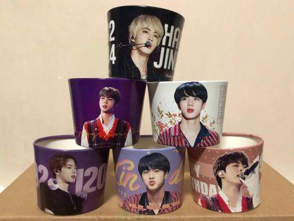 BTS Jin Cup Holder/Cup Sleeves