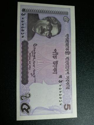 孟加拉5元