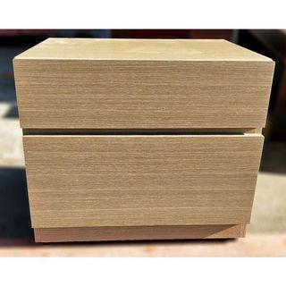 邊櫃/床頭櫃/置物櫃/2抽櫃/收納櫃/床邊櫃/臥室房間/儲物櫃