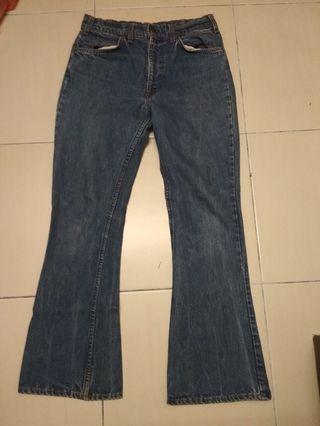 Vintage levis 646 flare jeans